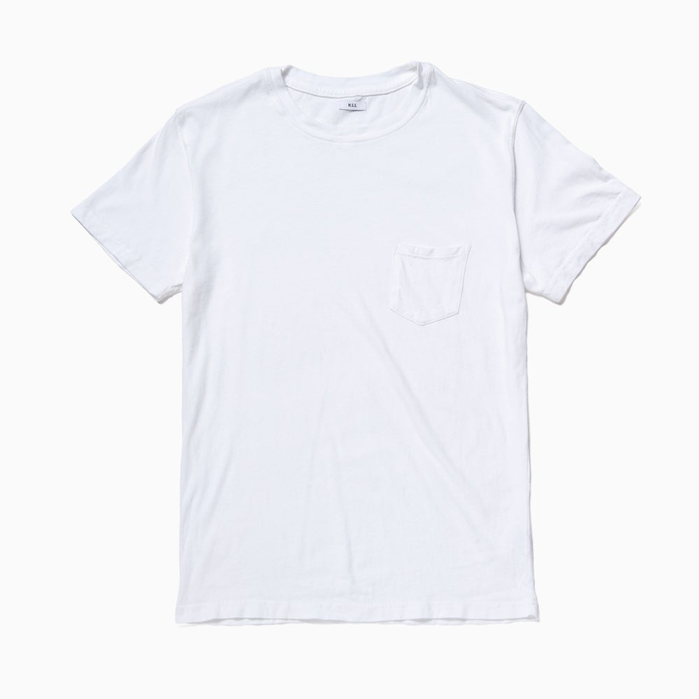 Image of M.S.S. Pocket Tee - WHITE