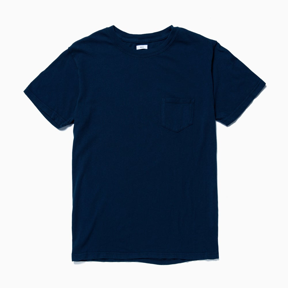Image of M.S.S. Pocket Tee - NAVY