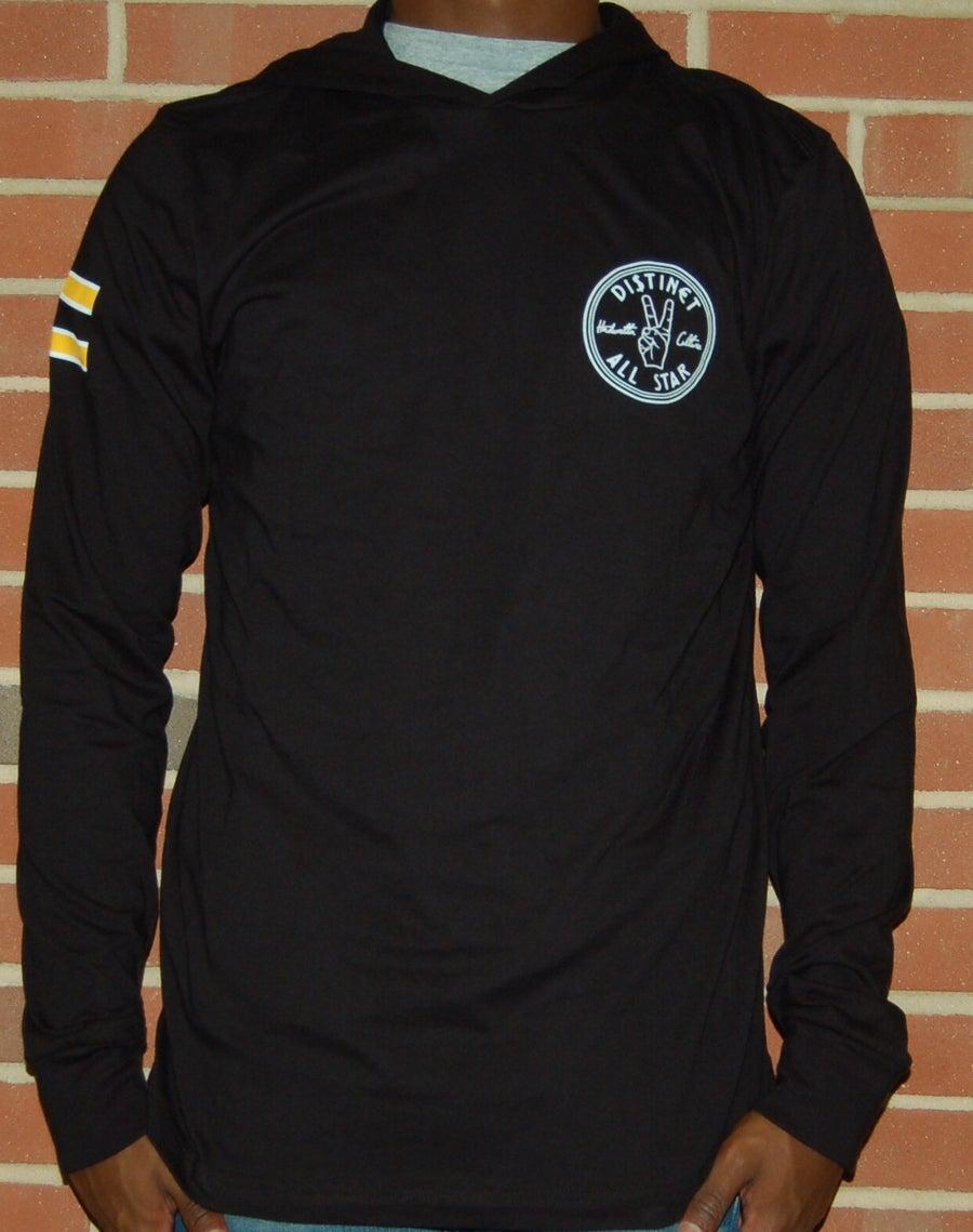 Image of Black Distinct All-Star hoodie