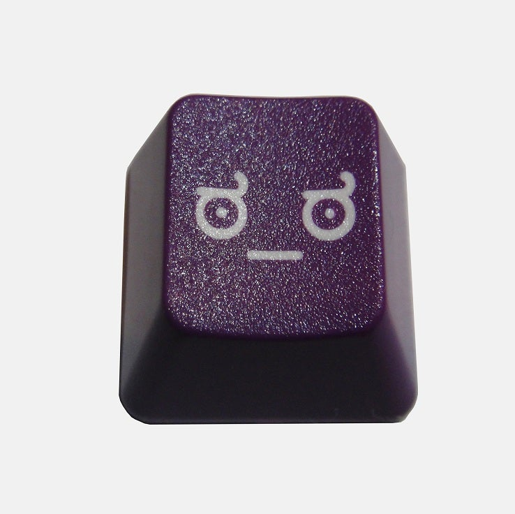 Image of Purple LOD(Look of Disapproval) Keycap