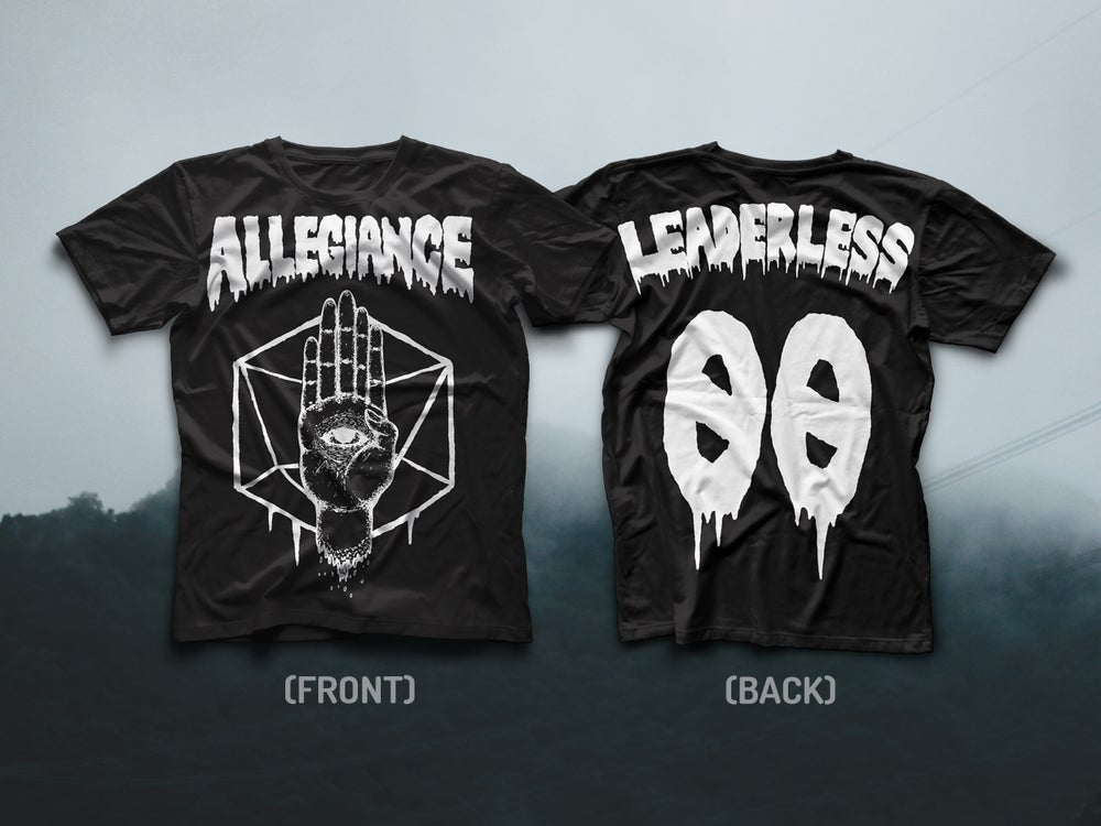 "Image of ALLEGIANCE ""LEADERLESS"" TEE"