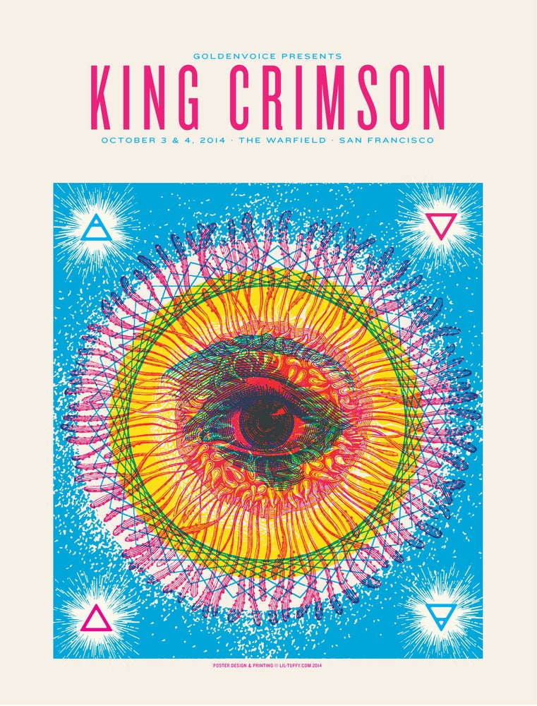 Image of King Crimson - San Francisco 2014