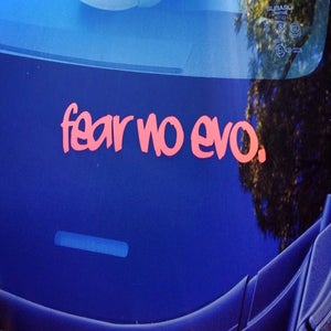 Image of Fear No Evo sticker