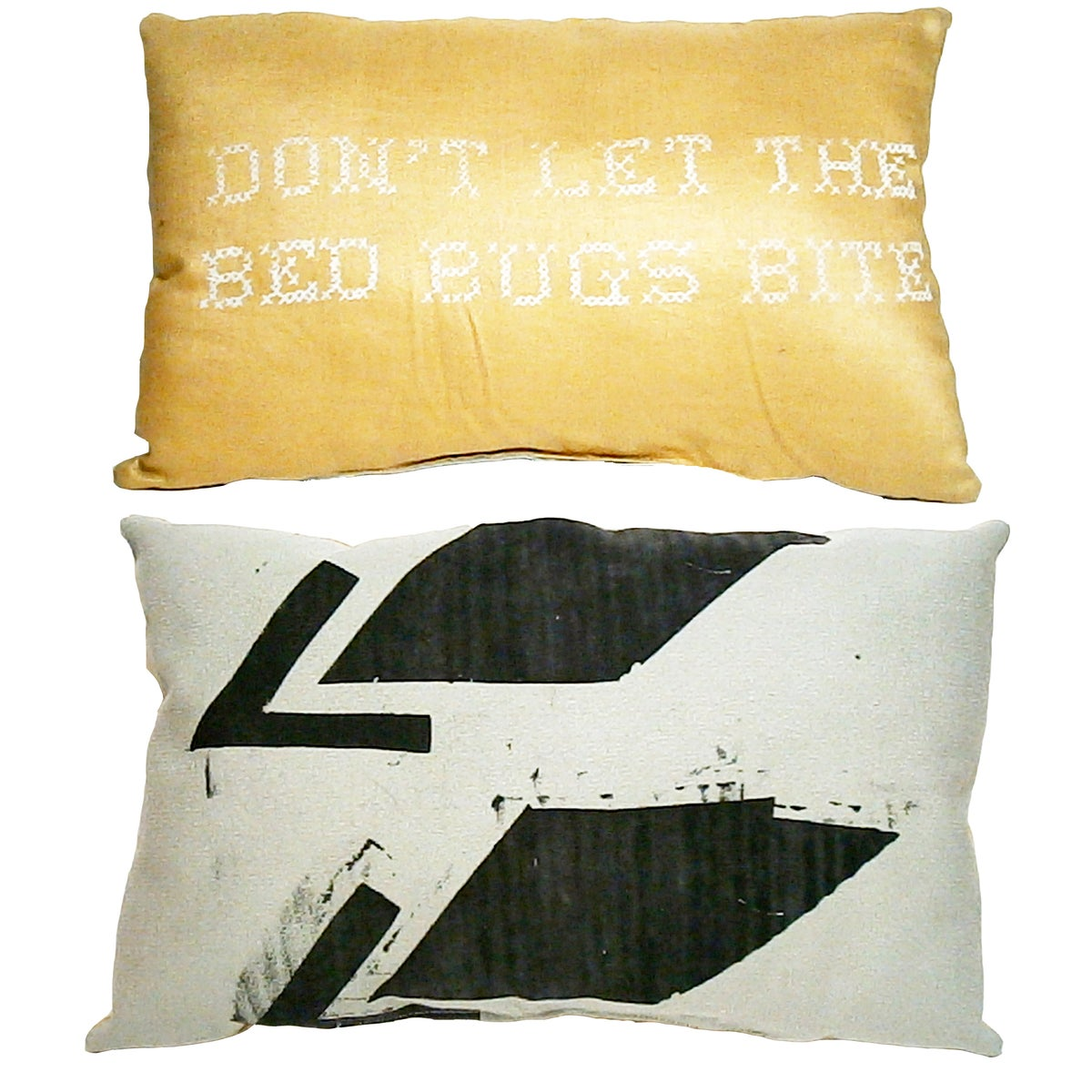 Not One Throw Pillow On The Bed :