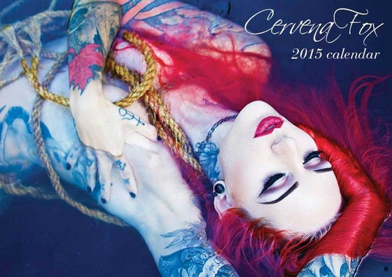 Image of Cervena Fox 2015 Calendar - sold out! Not printing anymore sorry!