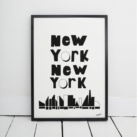 Image of New York City Print