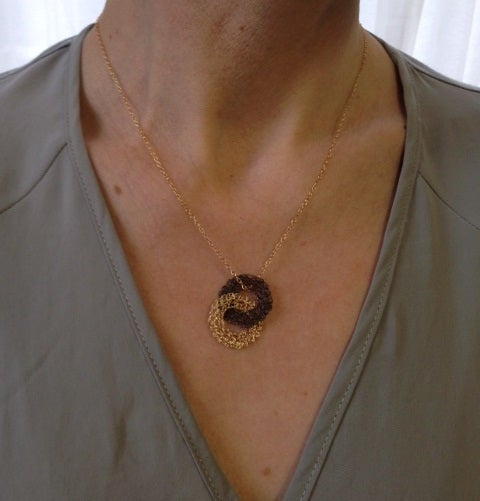 Image of Small puzzle necklace