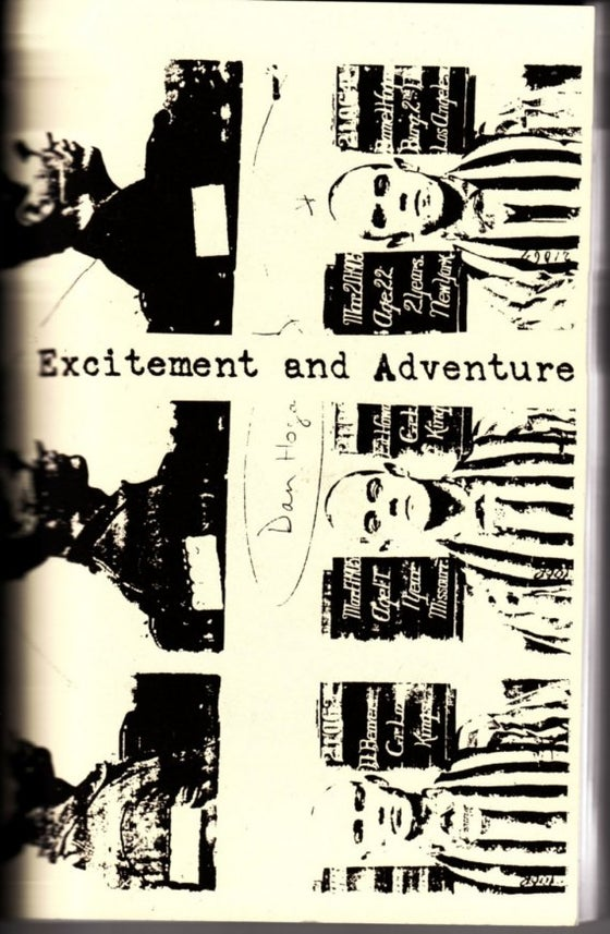 Image of Excitement and Adventure zine