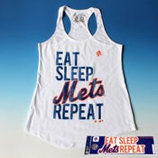 Image of Eat Sleep Mets Repeat (tank top)