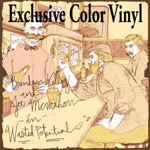 """Image of ALR:010 Brendan Kelly(The Lawrence Arms)/Joe McMahon(Smoke or Fire) """"Wasted Potential"""" color vinyl"""