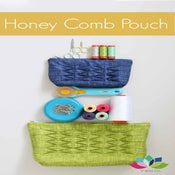 Image of Honey Comb Pouches PDF pattern