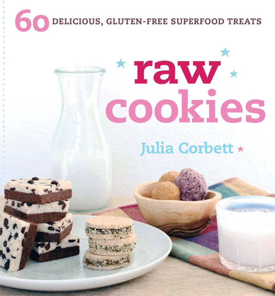 Image of Raw Cookies ~ recipe book