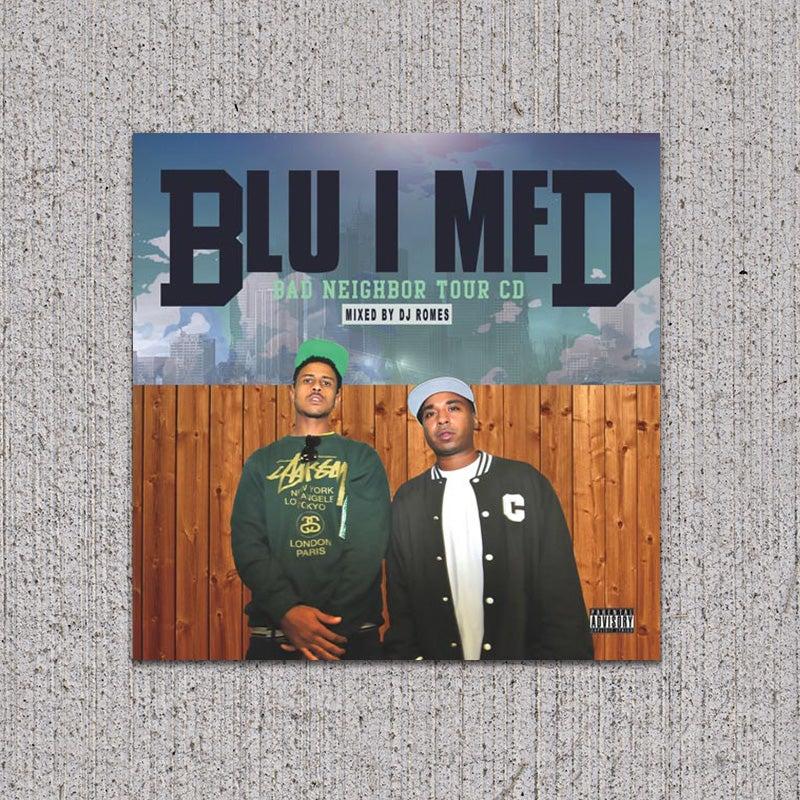 Image of BLU/MED - Bad Neighbor Tour CD