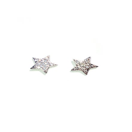 Image of Pave Star Earrings