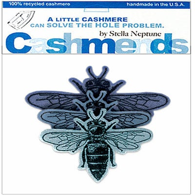 Image of -On Cashmere Bees - Triple Blue
