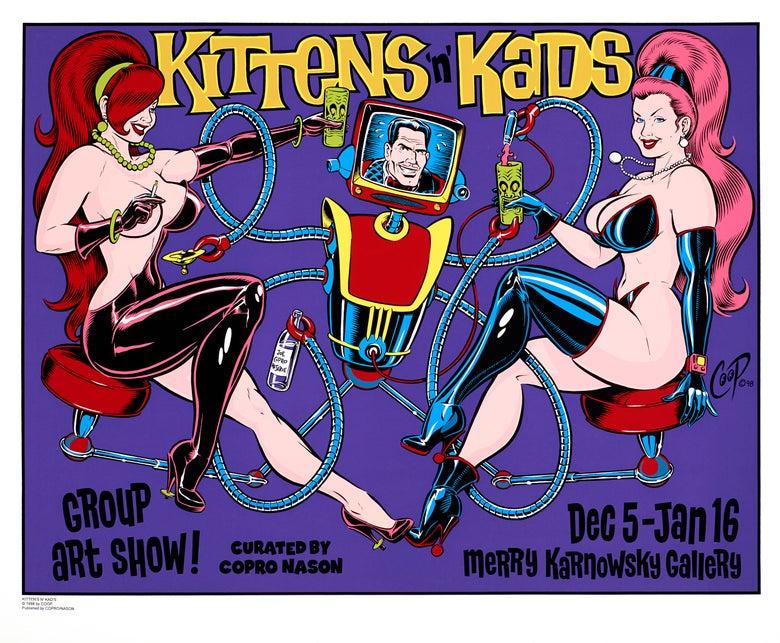 Image of KITTENS & KADS Silkscreen Print