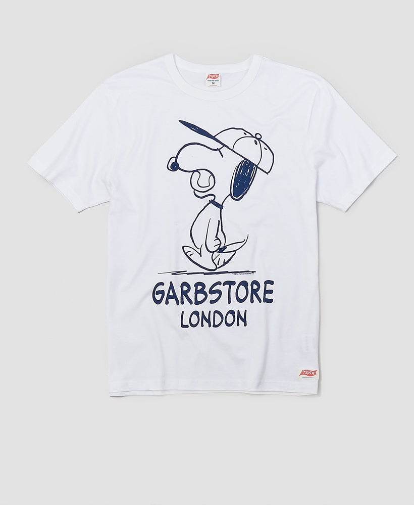 Image of TSPTR X Garbstore Snoopy Baseball T-Shirt