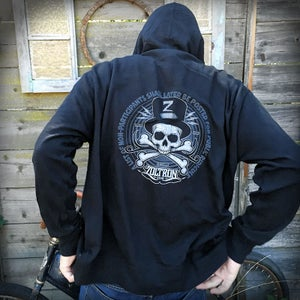 Image of Black Zoltron Hoodies