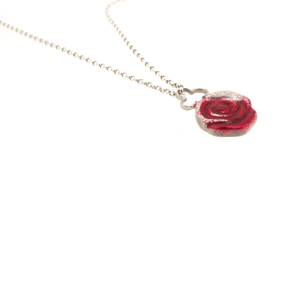 Image of {NEW} Wonderland Painting the roses red pendant