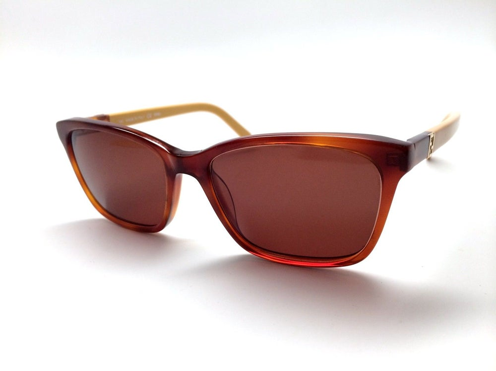 Image of SOLD OUT NEW AUTHENTIC FENDI SUNGLASSES FRAME F1013 HAVANA 53 RTL $499.99
