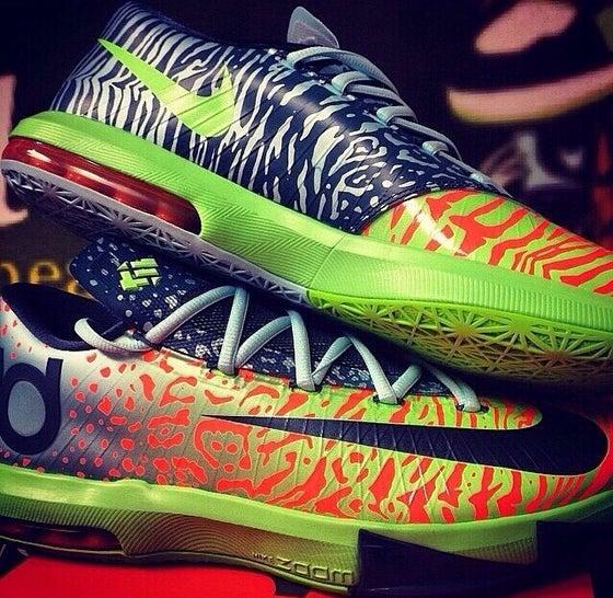 "Image of Nike Kd 6 ""Ligers"""