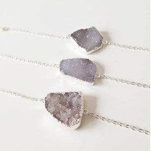 Image of Clearance Stock: Natural Druzy Bracelet