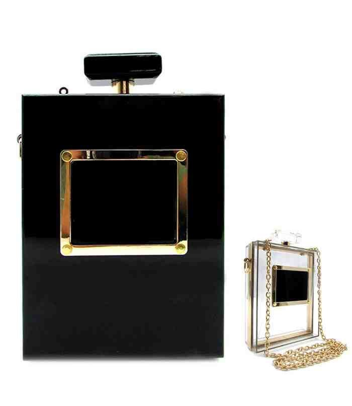 Image of PERFUME BOTTLE CLUTCH