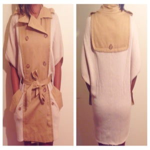 Image of Sweater Trench