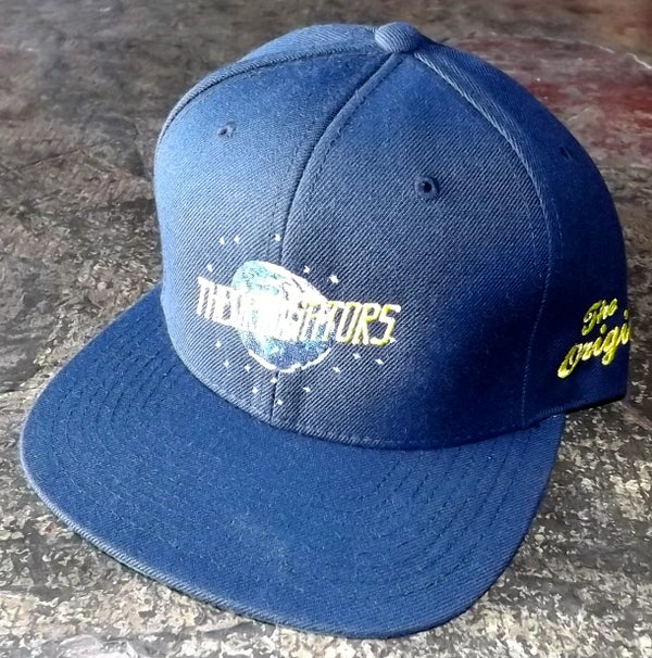 Image of OG MOON SNAP-BACK (NAVY)