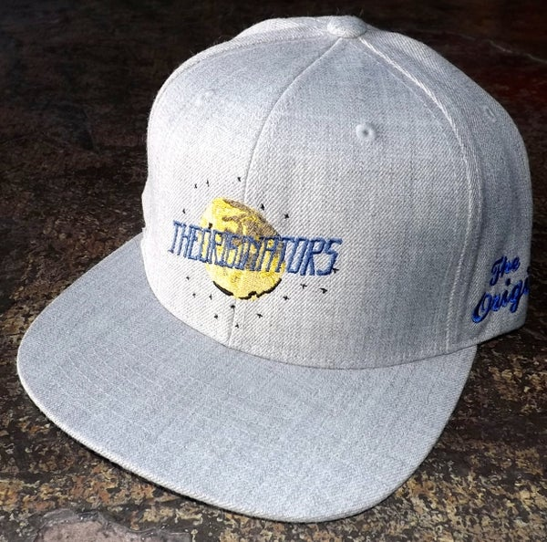 Image of OG MOON SNAP-BACK (HEATHER GREY)