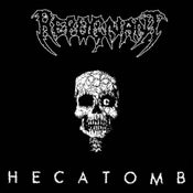 Image of REPUGNANT - Hecatomb MLP + etched B side black (pre-order)