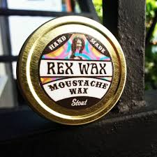 Image of REX WAX: STOUT (FIRM), UNSCENTED MOUSTACHE WAX