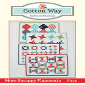 Image of More Scrappy Placemats Paper Pattern #979