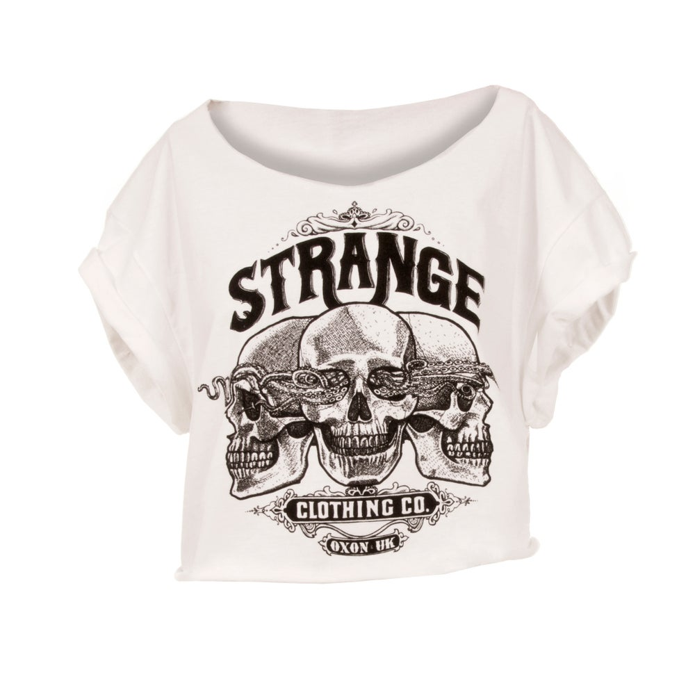 Image of Skull Logo Crop Top