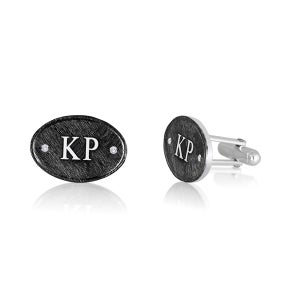 Image of Night Sky Personalized Cufflinks
