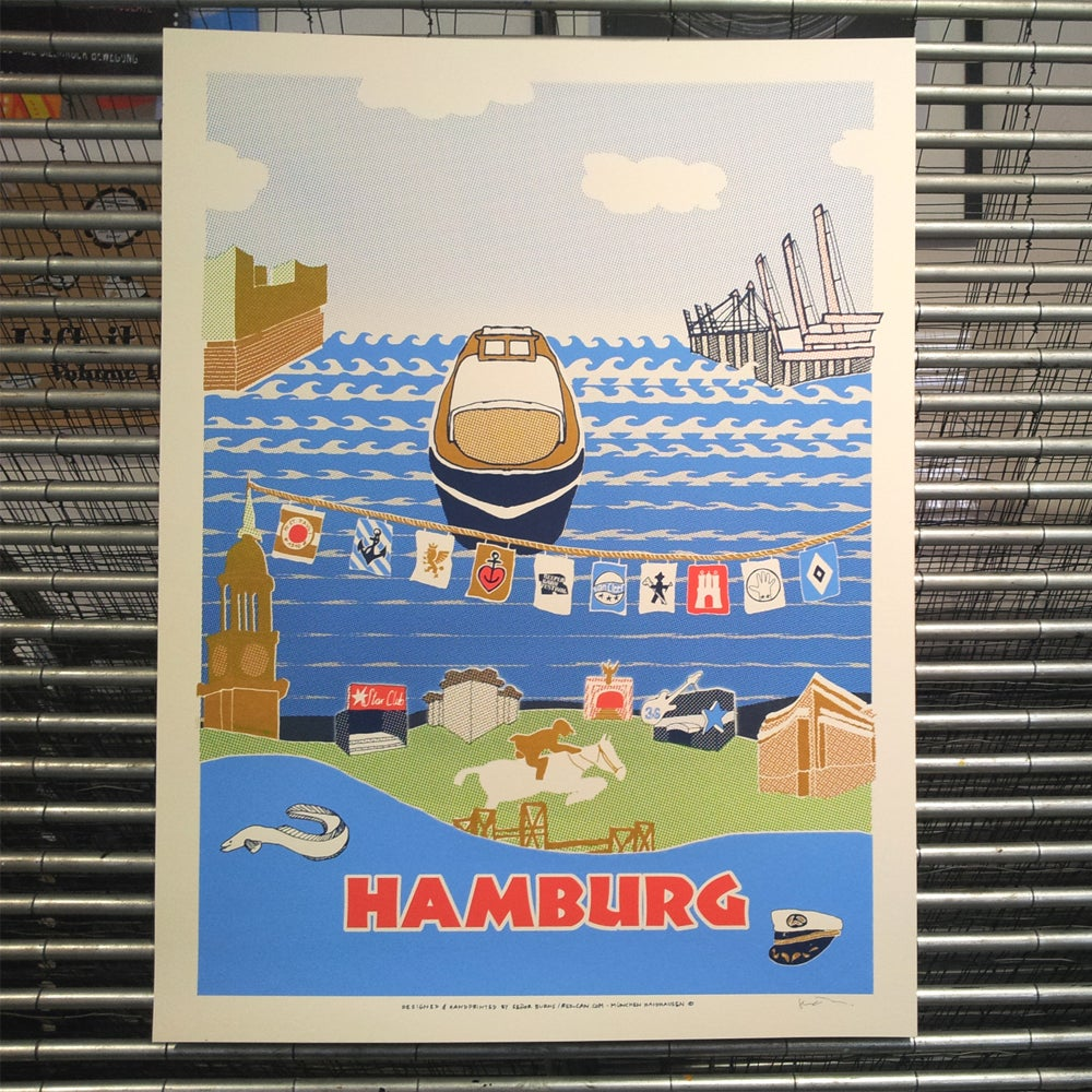 Image of HAMBURG (art print)