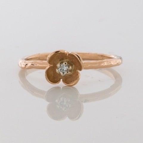 Beeld van Stack ring roségoud