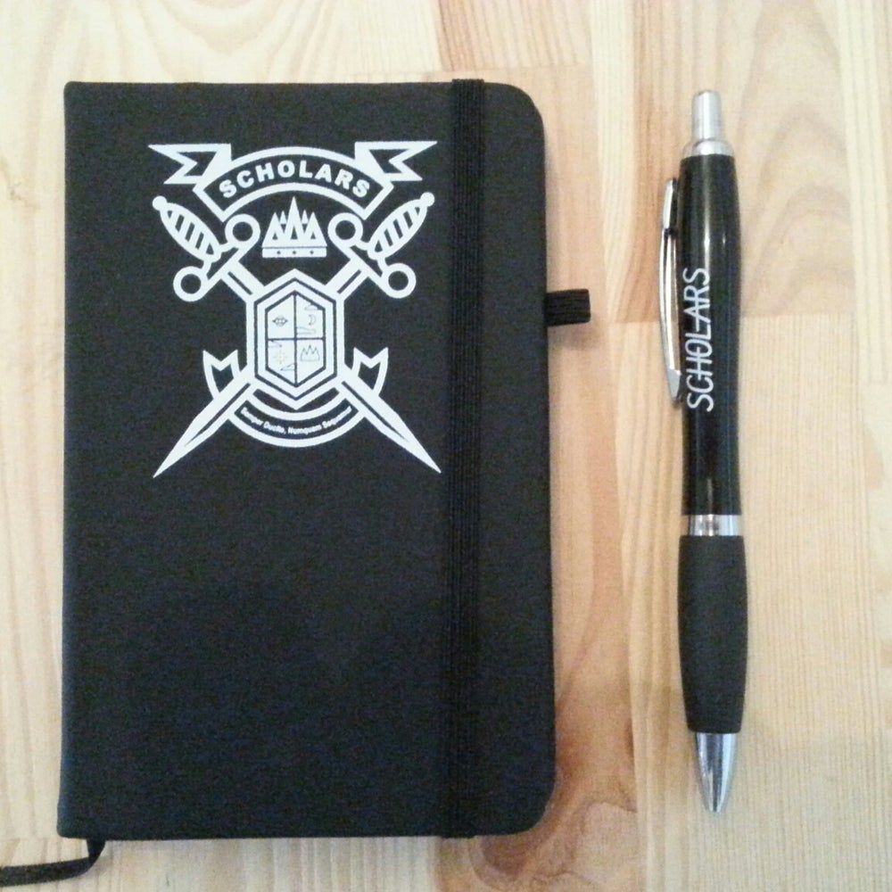 Image of Notebook and Pen Set