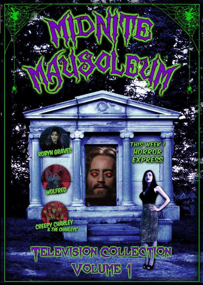 Image of *New* MIDNITE MAUSOLEUM TV Collection #1 DVD