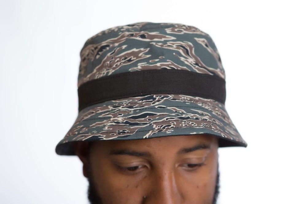 Image of DEATH STAR CAMO BUCKET HAT