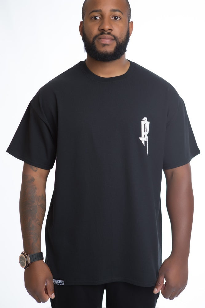 Image of LIFE IN PIECES TEE (BLACK)
