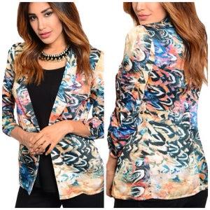 Image of Multicolor blazer