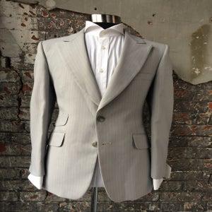 Image of Grey Pinstripe Jacket