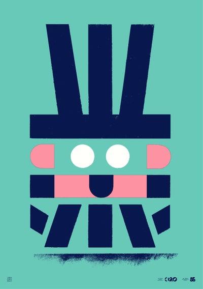 Image of Büro Destruct - Tribler Child (Poster)