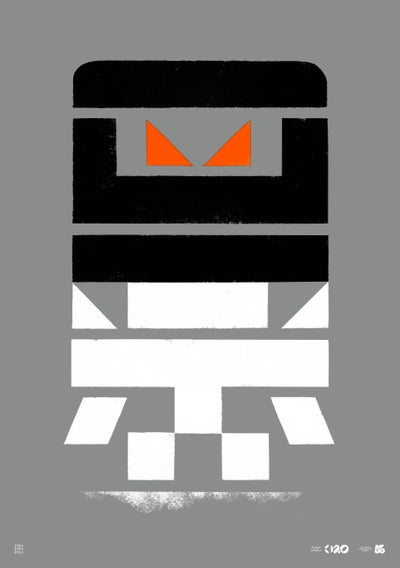 Image of Büro Destruct - Tribler Robot (Poster)