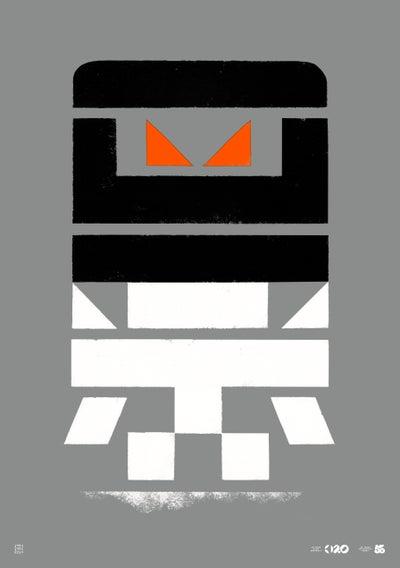 Image of Büro Destruct - Tribler Robot (Poster)
