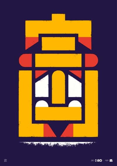 Image of Büro Destruct - Tribler Faulpelz (Poster)