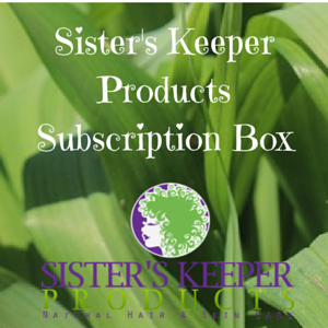 Image of Sisters Keeper Products Subscription Box