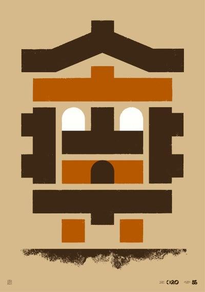 Image of Büro Destruct - Tribler Chalet (Poster)