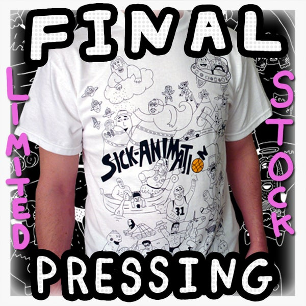 SA Multiple Characters Shirt - Sick Animation Shop